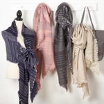 S489 striped scarf