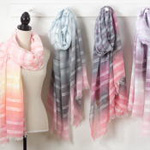 S640 striped scarf