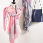 S904 polka dot design scarf