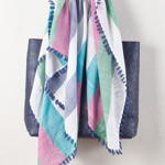 S906 stripe design scarf