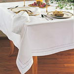 8648 hemstitched tablecloths