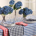 590 gingham tablecloths
