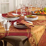 6702 Jacquard Design Thanksgiving Runner