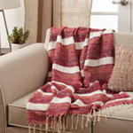 TH282 Striped Throw
