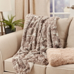 TH335 Faux Mink Fur Throw