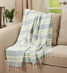 TH402 Plaid Throw