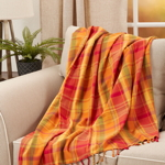 TH520 Harvest Plaid Throw