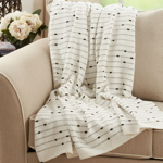 TH772 Striped Tassel Throw