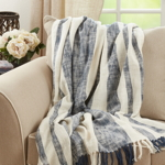 TH811 Striped Throw