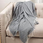 TH039 jacquard throw