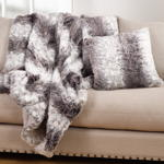 TH140 faux fur throw