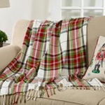 TH286 Plaid Throw