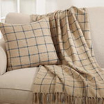 441 checkered pillow