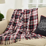 TH647 Plaid Throw