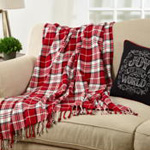 TH648 Plaid Throw