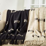 TH802 Fringe Line Throw