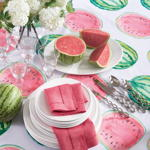 1247 printed watermelon topper