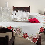 648 poinsettia design topper