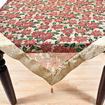 XJ190 poinsettia tablecloths
