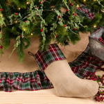 1216 plaid stocking
