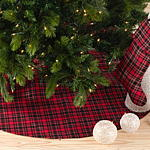 2669 plaid design stocking