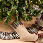 3212 plaid stocking