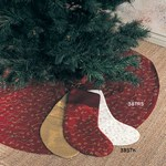 38TRS ari embroidered tree skirt