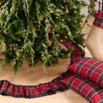 8054 plaid stocking