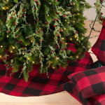 9025 buffalo plaid stocking