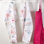 13010 printed floral kitchen towel