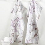 1322 baroque flourish kitchen towel