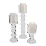 V890 Crystal Candle Holder