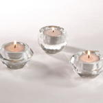 V404 crystal candle holder