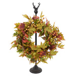 WR261 fall leaf wreath