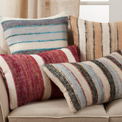 2827 Striped Pillow
